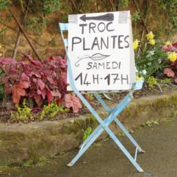 pancarte troc plantes